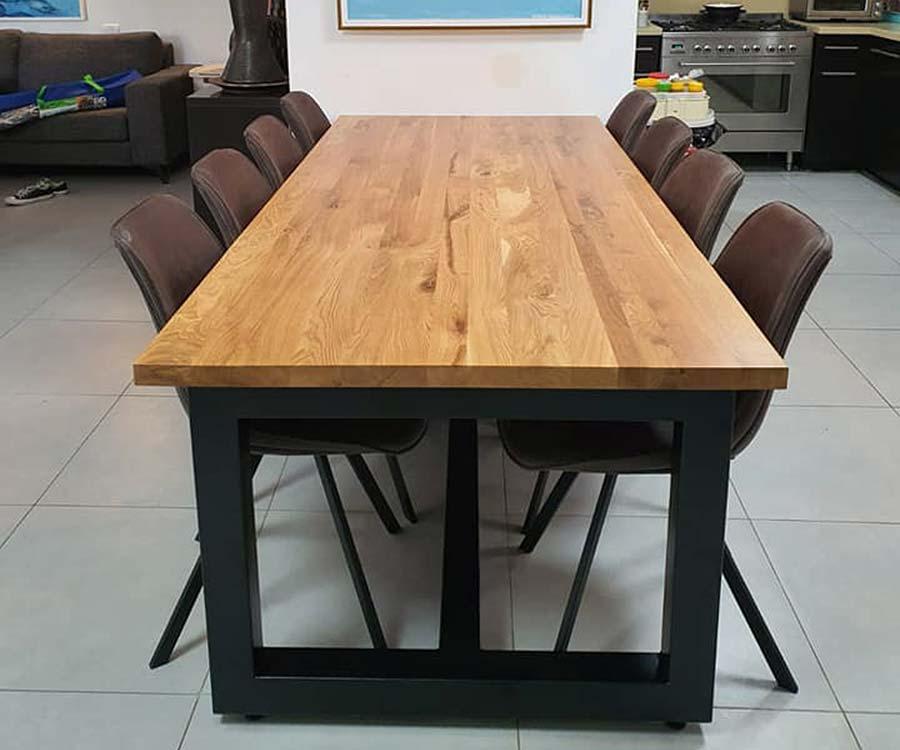 שולחן עץ מלא 3