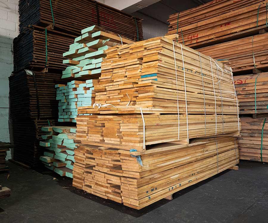 מחסן עצים אלון אירופאי